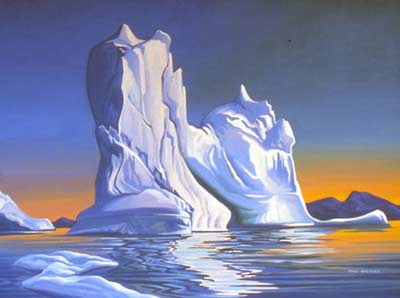 Painting by Paul F. Gauthier